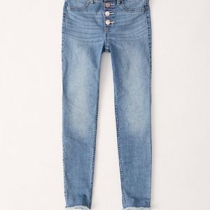 Abercrombie High Rise Jean Jegging, SLIM